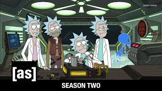 Seasons 1 3 Opening Credits | Rick And Morty | Adult Swim