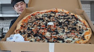 DESTROYING my 1st YouTube  Food Challenge (New Record??) thumbnail