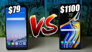 LG Stylo 4 vs Samsung Galaxy Note 9 | Full Comparison