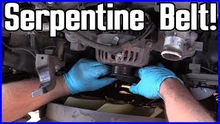 Serpentine Belt Replacement Ford F-150 5.4L V