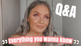 GET TO KNOW ME Q&A! My Life Story, Business Idea's & Anxiety...