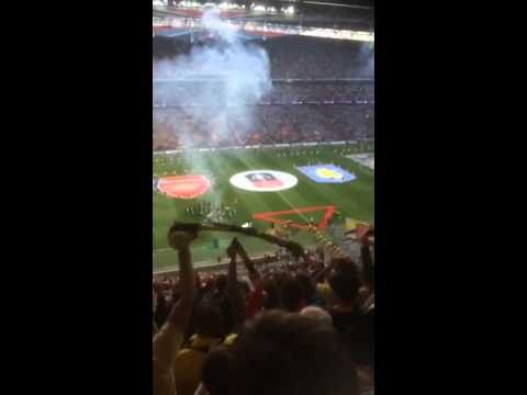 Wembley FA CUP FINAL Arsenal v Aston Villa entrance 2015