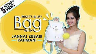 What's In My Bag With Jannat Zubair Rahmani | Bag Secrets Revealed | Exclusive