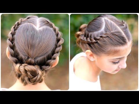 Half Up Bow Combo Cute Girls Hairstyles - Naijafy