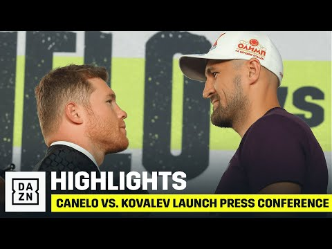HIGHLIGHTS | Canelo vs. Kovalev Launch Press Conference