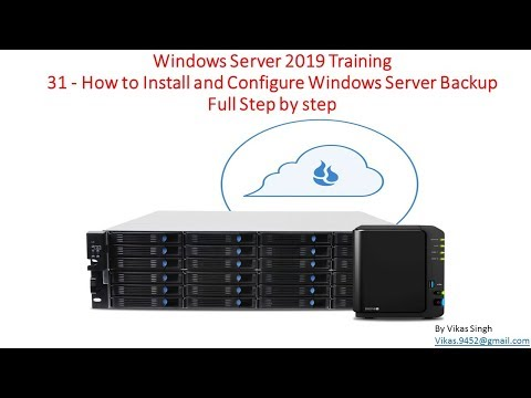 Windows Server 2019 Training 31 - How to Install and Configure ...