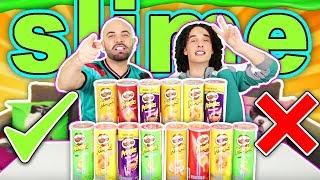 Do not choose the Pringles INCORRECT - Slime Challenge