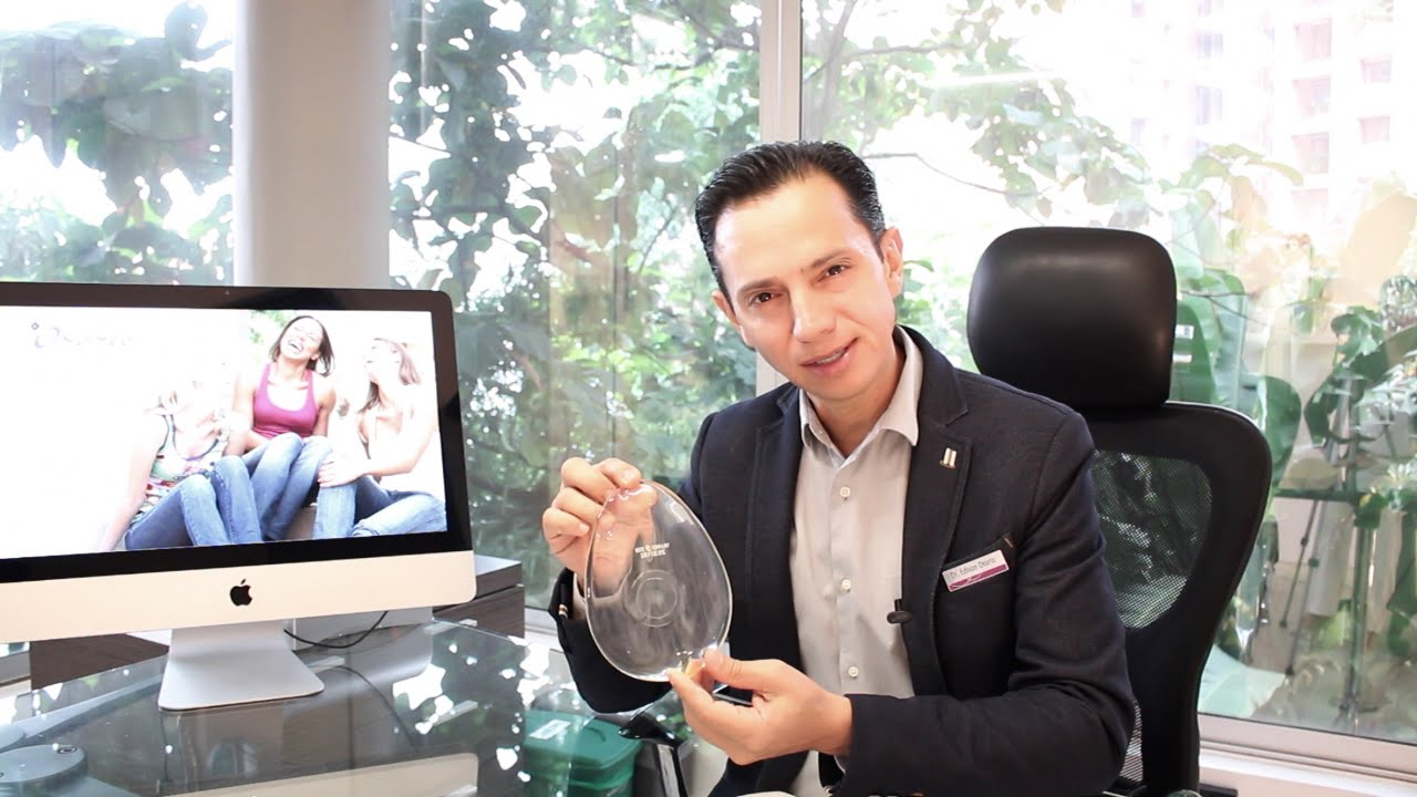 Forma de los implantes mamarios