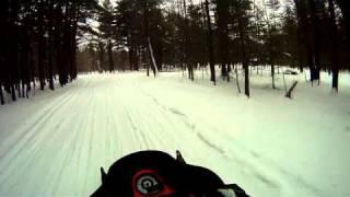 sacandaga lake snowmobiling