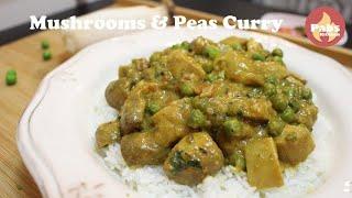 Best Creamy Mushroom & Peas Curry 🌿