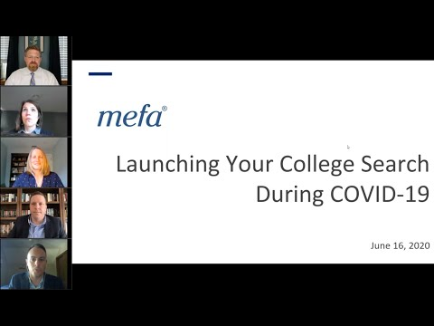 Launching Your College Search During COVID-19
