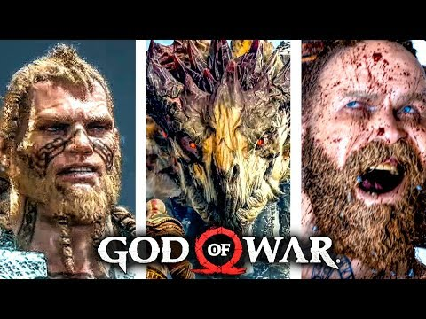 GOD OF WAR 4 ALL Boss Fights And Ending (1080p 60FPS)