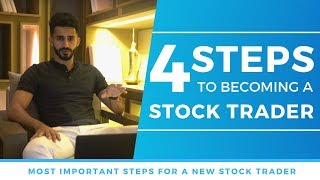 Steps to Become A Stock Trader