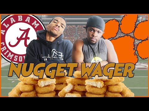 NCAA FOOTBALL NUGGET WAGER! - NCAA 14 (NCAA 17 UPDATED ROSTERS) | #ThrowbackThursday