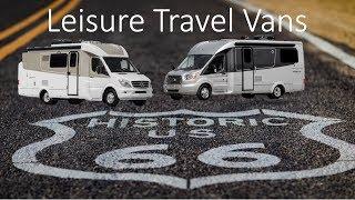 2019 Leisure Travel Vans - Unity U24MB / Wonder W24 RTB Pleasanton RV show 加拿大頂級B+型露營車