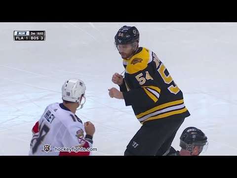 Adam McQuaid vs. Micheal Haley