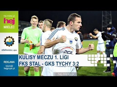 WIDEO nr 2: Stal Mielec - GKS Tychy 3-2 [KULISY MECZU]