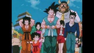 Mr. Satan  - (Dragon Ball) - GOHAN Y LOS DEMÁS PASAN VERGUENZA POR CULPA DE MR.SATAN