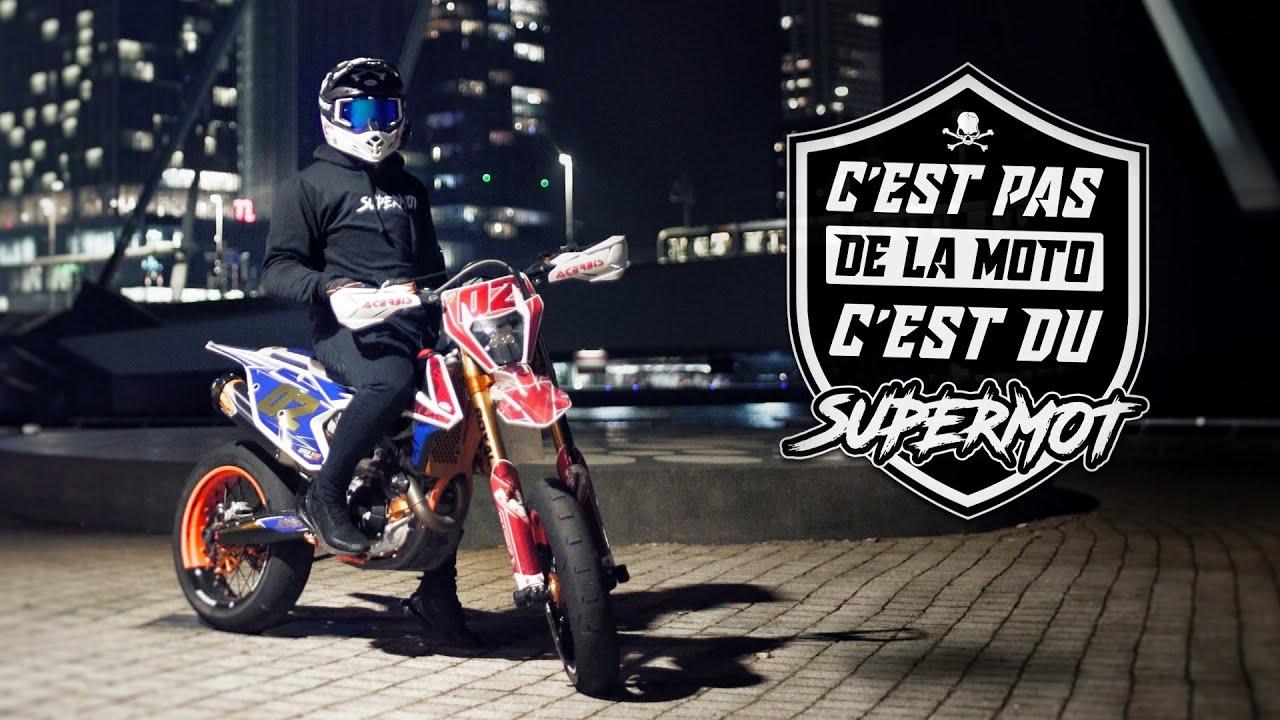 C'EST PAS DE LA MOTO, C'EST DU SUPERMOT !
