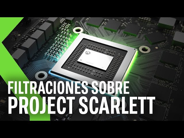 Xbox Anaconda y Xbox Lockheart: FILTRACIONES DE PROJECT SCARLETT  - Hasta 12TFLOPS Y 16GB RAM