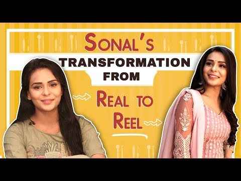 Sonal Vengurlekar's Real To Reel Transformation | Yeh Teri Galliyaan | Zee tv