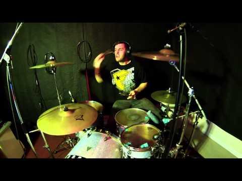 Christian Van Ham Drumming in Studio