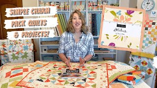 Simple Charm Pack Quilts And Projects