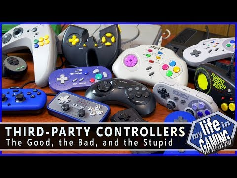 Third-Party Controllers - The Good, the Bad, and the Stupid / MY LIFE IN GAMING