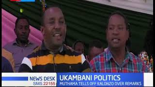 Former Senator Muthama rubbishes Kalono's presidential ambitions