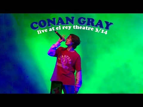Conan Gray - Sk8er Boi / The King - Live In LA @ El Rey Theatre 3/14 - Keaten
