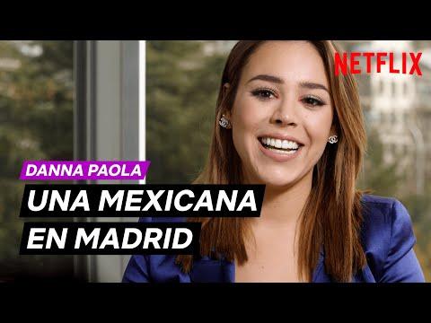 Una MEXICANA en MADRID con DANNA PAOLA | ÉLITE | Netflix España HD Mp4 3GP Video and MP3