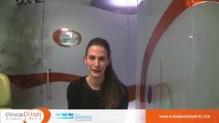 Testimonio de Ortodoncia lingual (María)