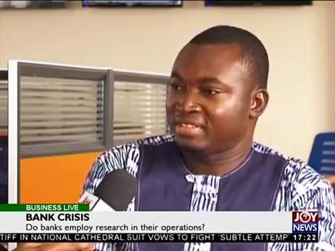 Do banks employ research in their operations? - Business Live on JoyNews (28-8-18)