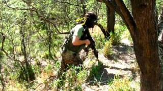preview picture of video 'Airsoft War:  808 Wicked West Christmas Game - Nanakuli Ranch  - Sunday, December 13, 2009'