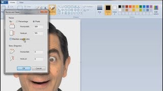 How to resize photograph, signature in paint (Explained in Hindi)