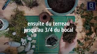 Tuto DIY terrarium- Ambiance printanière