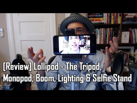 Lollipod Tripod Review - Become a Video Blogger by Video Blogging Pioneer Steve Garfield
