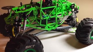 8 SHOCKS On An Axial SMT10 | Boom Racing Type G Shocks | Overkill RC
