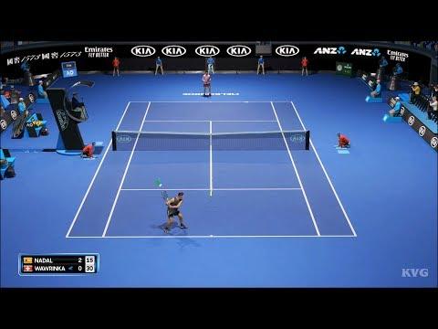 AO Tennis 2 Gameplay (PS4 HD) [1080p60FPS]
