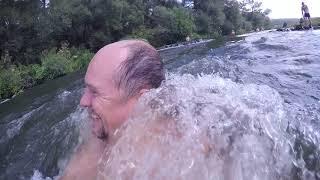 Сплав по реке Осётр. Прохождение порогов