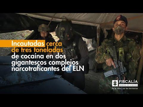 Fiscal Francisco Barbosa: Incautadas cerca de tres toneladas de cocaína del ELN