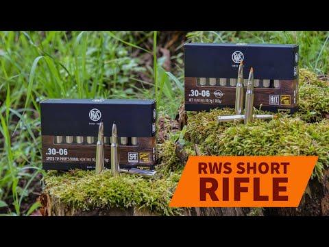 rws-ammunition: RWS Short Rifle:i vantaggi della nuova linea di cartucce studiate per carabina con canna corta