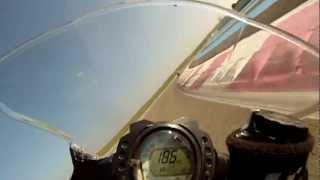 Caméra embarquée au casttelet ou Paul Ricard en ZX 10 R Kawasaki