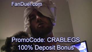 Best Fan Duel Promo Code - Good for College Football: CRABLEGS
