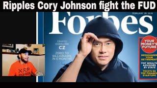 Zero To Crypto Billionaire CZ Binace ...Ripple XRP Cory Johnson fights the FUD..START YOUR DAY CKJ