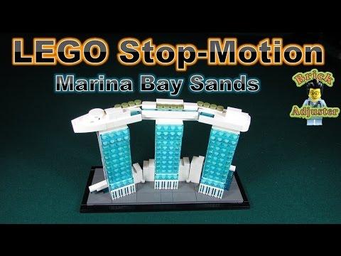 Vidéo LEGO Architecture 21021 : Marina Bay Sands (Singapour)
