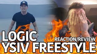 LOGIC   YSIV FREESTYLE (REACTIONREVIEW) #YoungSinatra