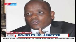 Dennis Itumbi arrested by DCI detectives reportedly over fake letter probe | Bottomline Africa