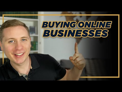 Buying an Online Business 2021 | How to Buy A Passive Online Business