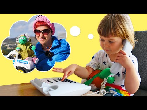 Маша Капуки и черепашка Бьянки на прогулке - Игры для детей Привет, Бьянка